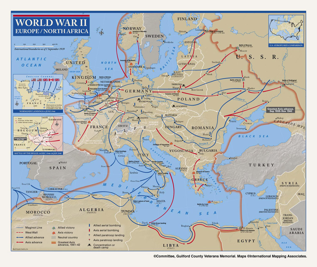 Opinions on european theatre of world war ii