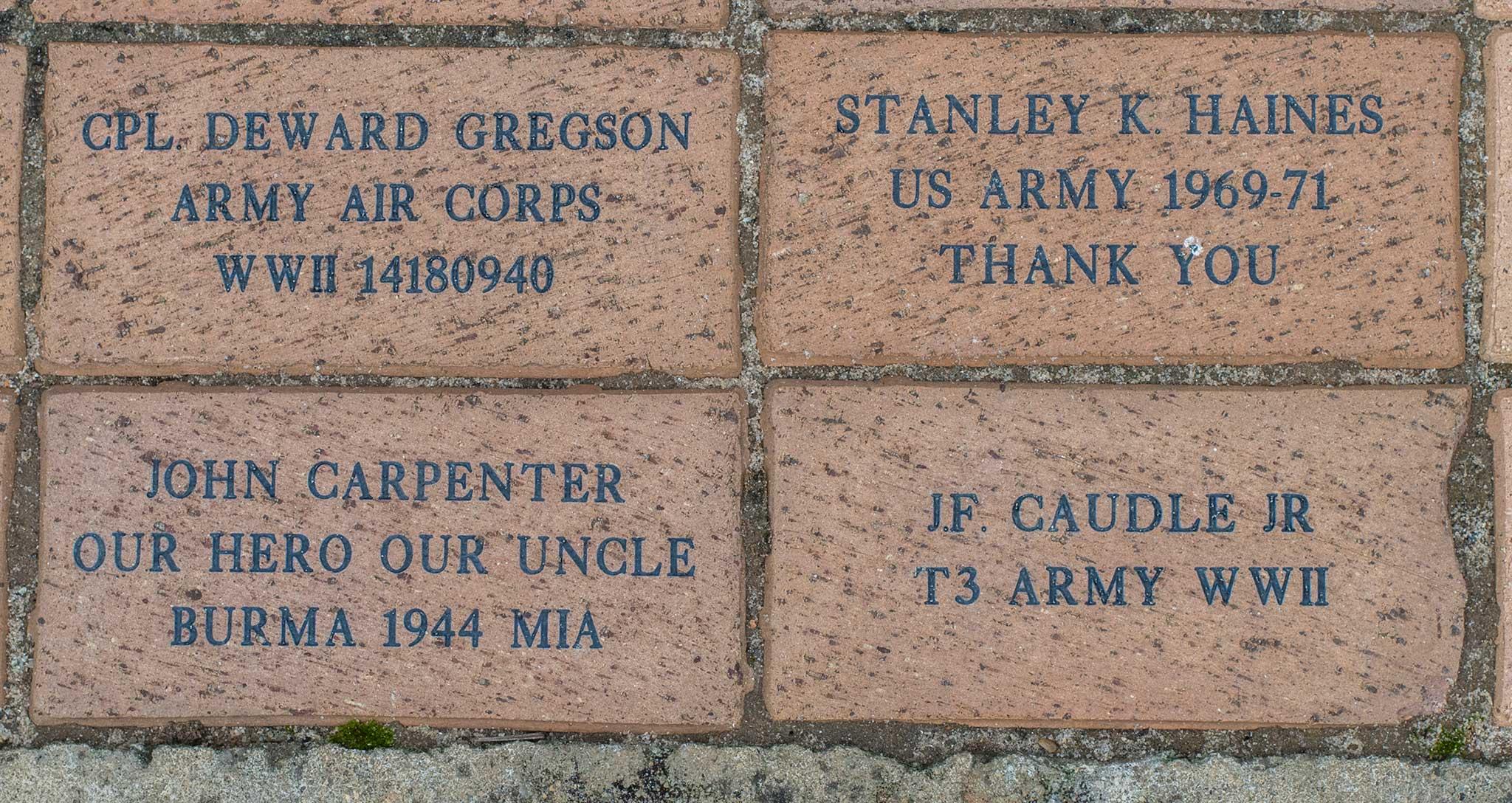 CPL DEWARD GREGSON ARMY AIR CORPS WWII 14180940